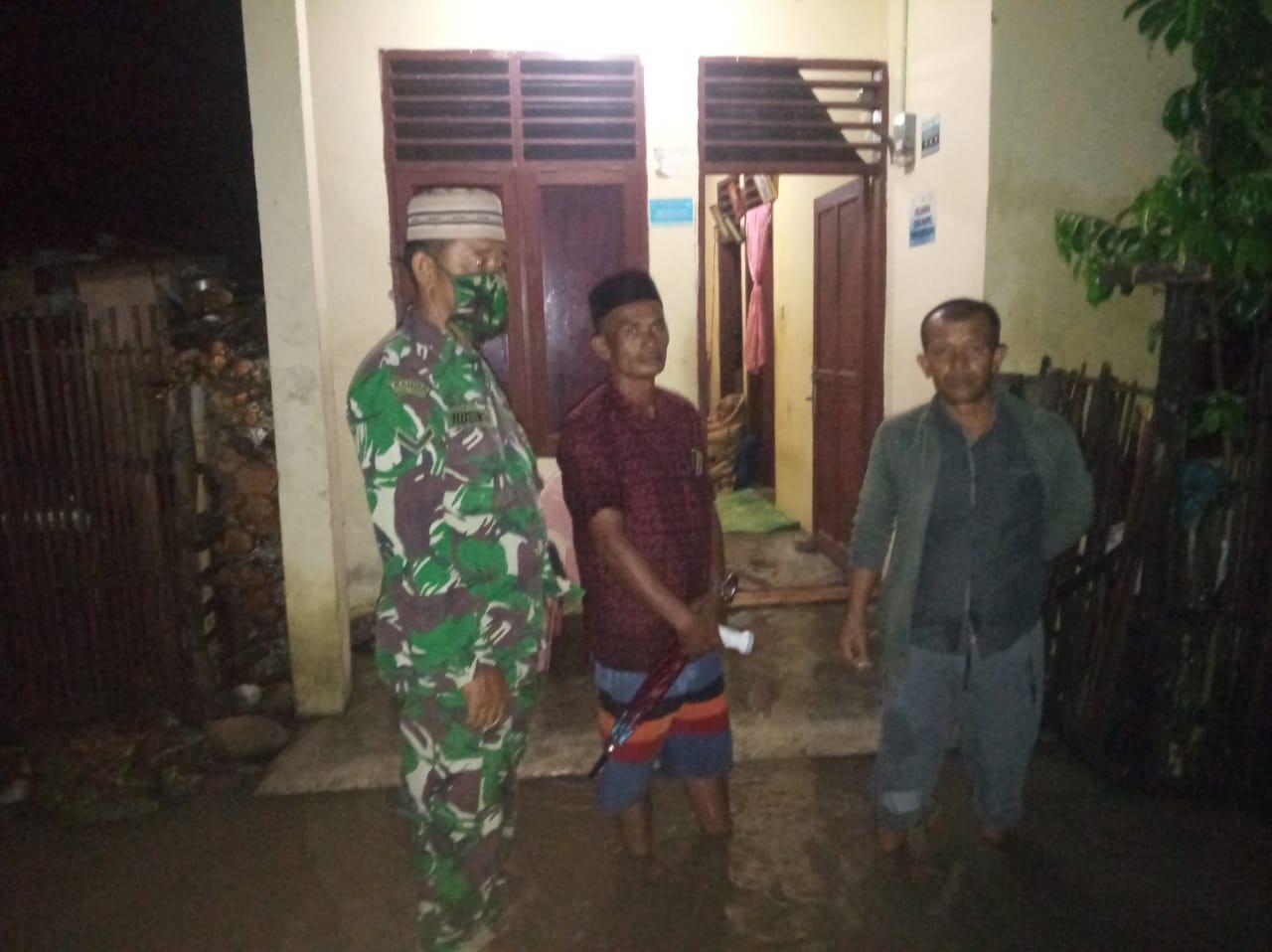 Akibat Hujan Deras, Belasan Rumah di Kampung Kutaujung Terendam Banjir