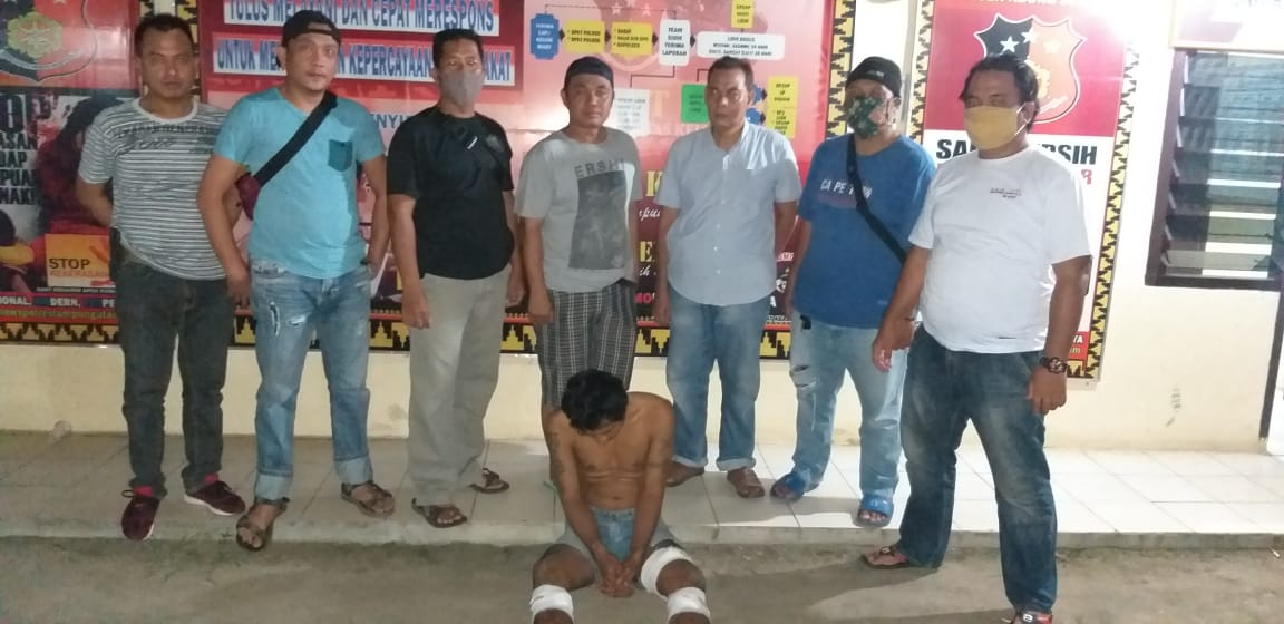 Unit Reskrim Polsek Abung Selatan Tangkap Pelaku Curas