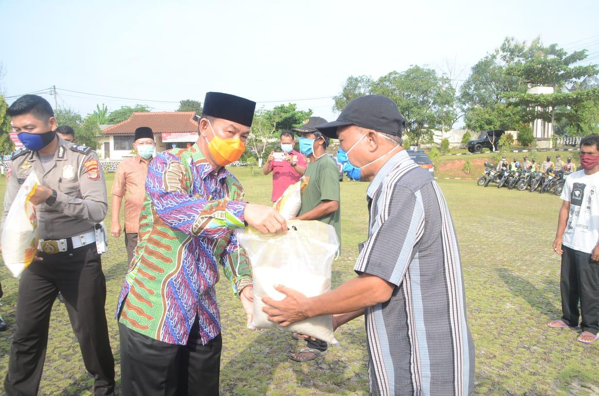 Pemkab Lampura Dapat Bantuan APD Dari PT Nakau Lampung Utara