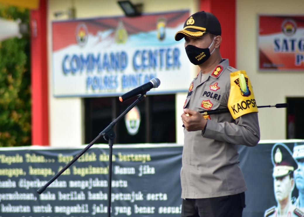 Polda Kepri dan Polres Bintan Siap Amankan Pemberlakuan New Normal