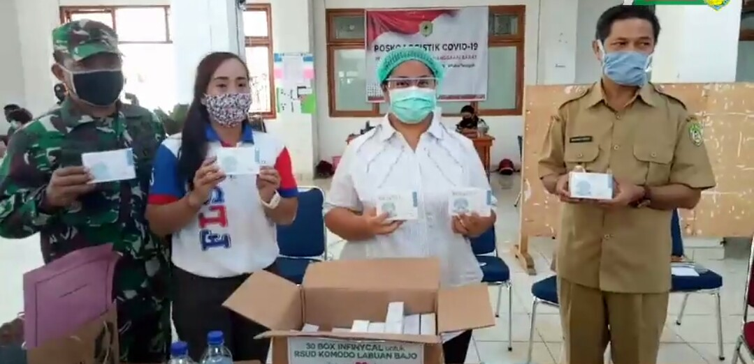 "Donasi Terus Mengalir, Bupati Dulla: ""Gunakan Dengan Baik"""