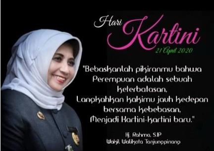Peringatan Hari Kartini: Rahma Ajak Para Perempuan Optimistis dan Membantu Pemerintah dalam Penanganan Covid-19
