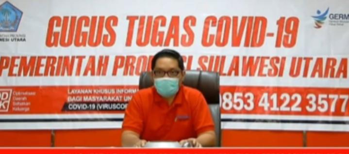 CoronaVirus Disease 2019 di Sulawesi Utara Bertambah Satu Kasus Positif Menjadi 854 Kasus