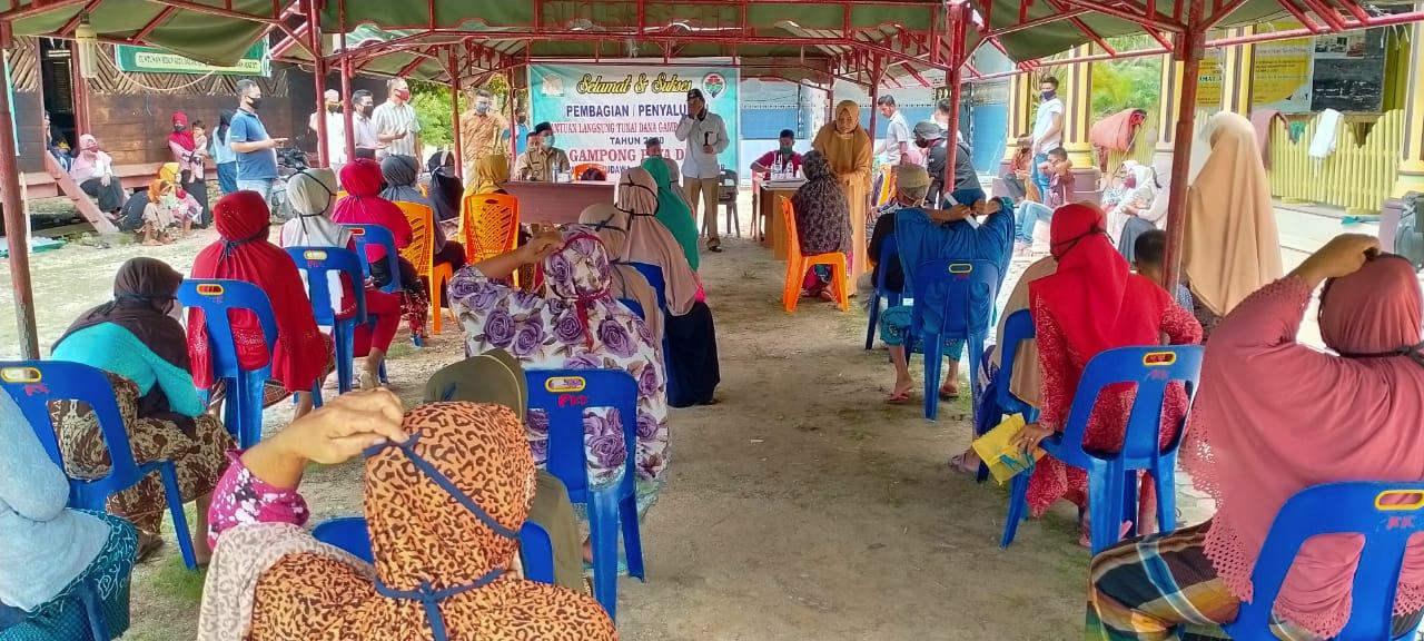 Gampong Paya Dua Peudawa Aceh Timur Bagi BLT Dana Desa