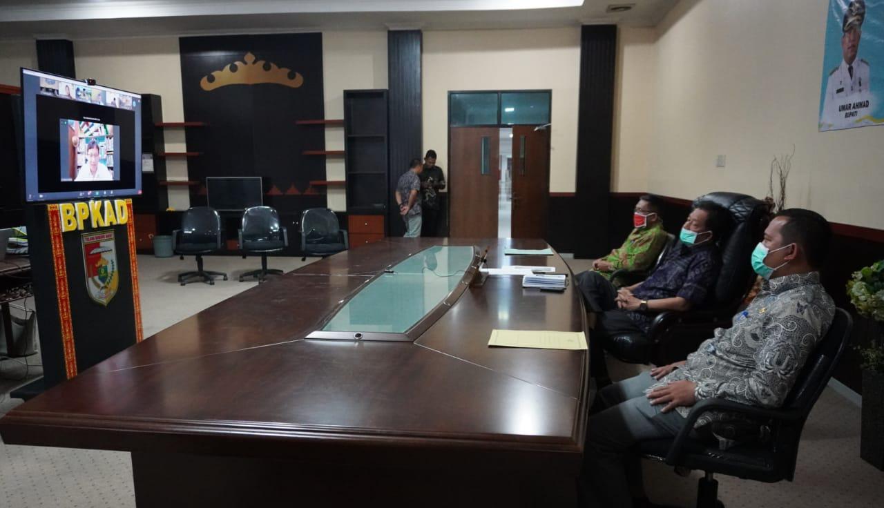 Wabub Tubaba Ikuti WEBINAR Simpul Literasi Se Provinsi Lampung