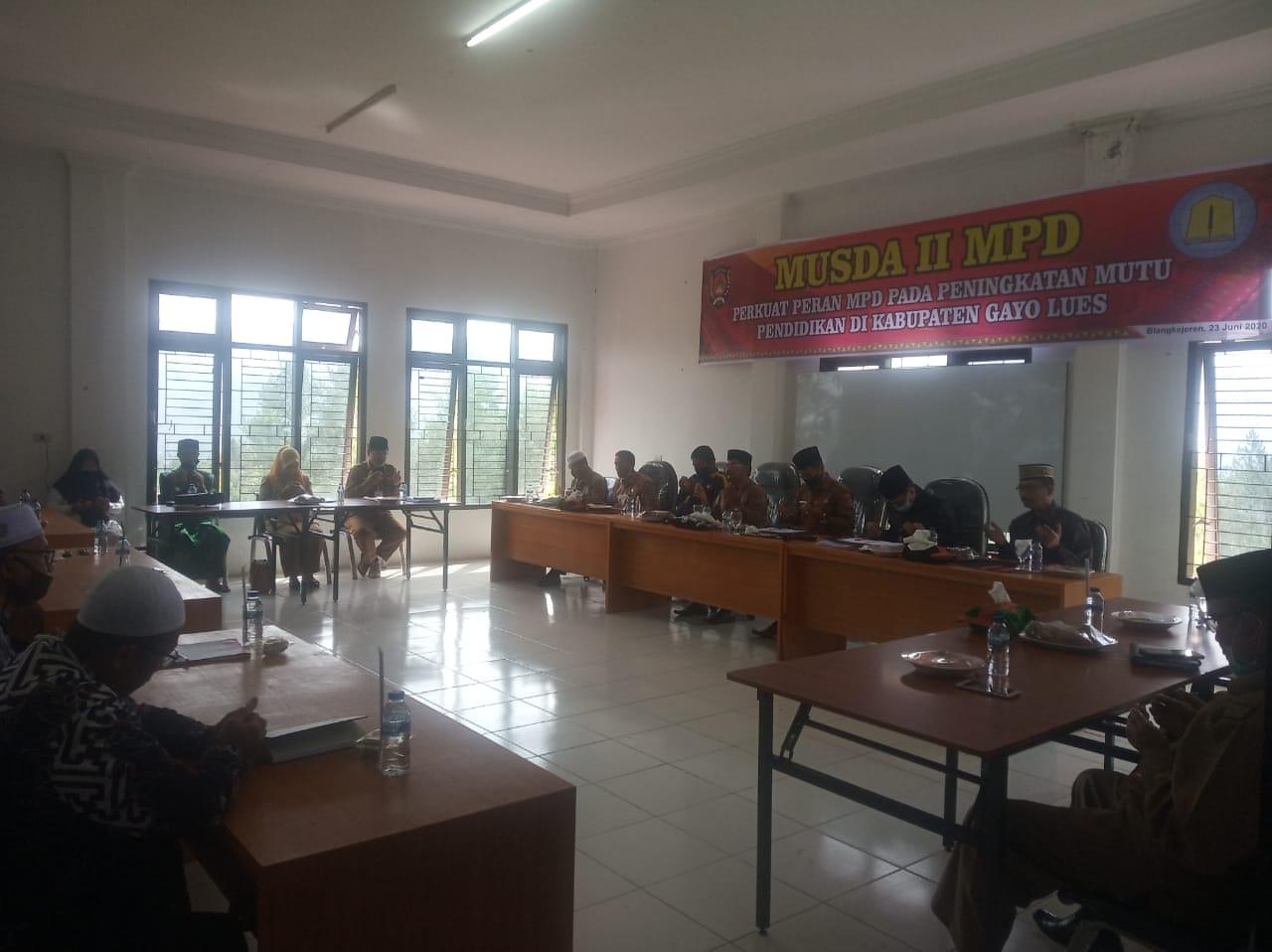 Perekrutan Pengurus MPD II Galus Tertutup