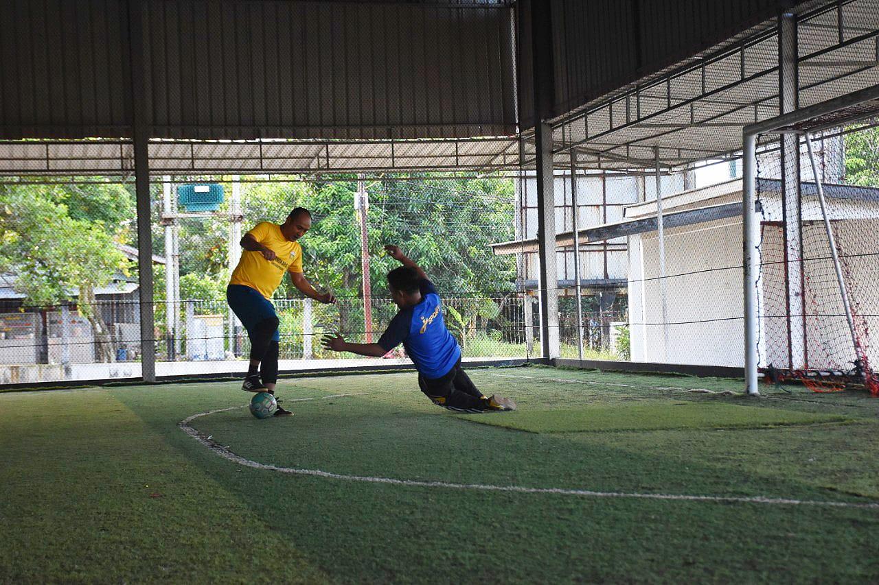 Tanding Futsal, Polres Tanjungpinang Hajar Jurnalis 9 – 6