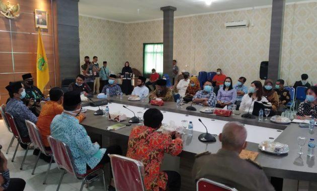 Komisi I dan II DPRD Kota Tanjungpinang Lakukan Kunjungan Kerja ke Kabupaten Lingga
