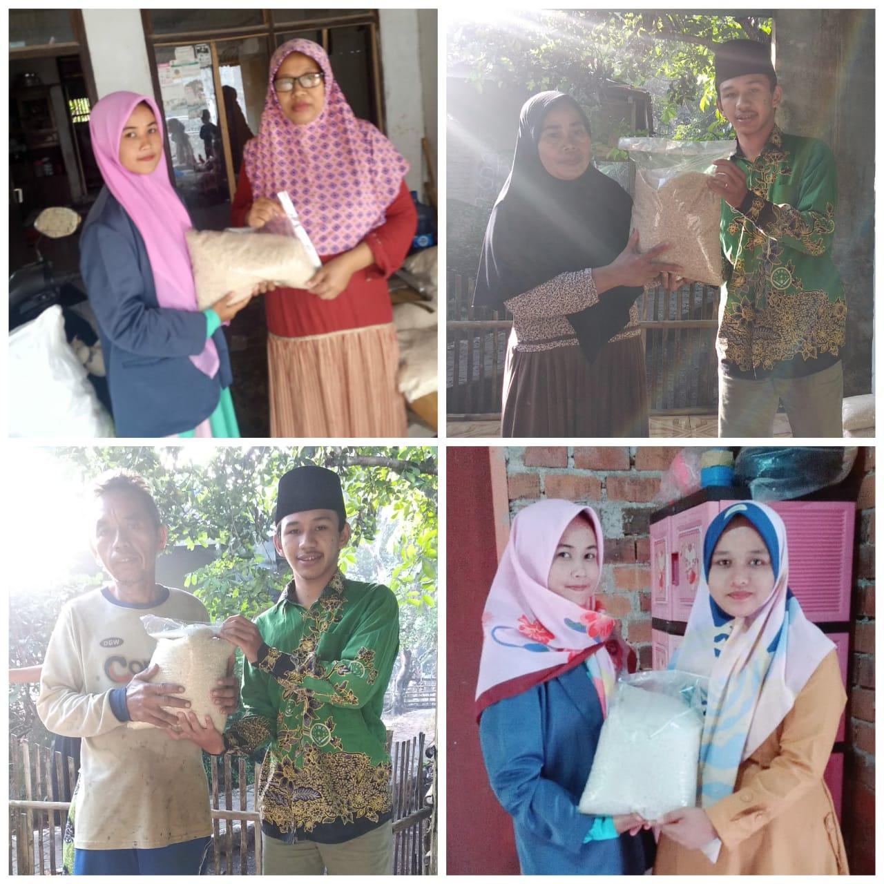 PAC IPNU IPPNU Tegalwaru Memasuki New Normal, Bantu Masyarakat Pedesaan lewat Program Beras Murah