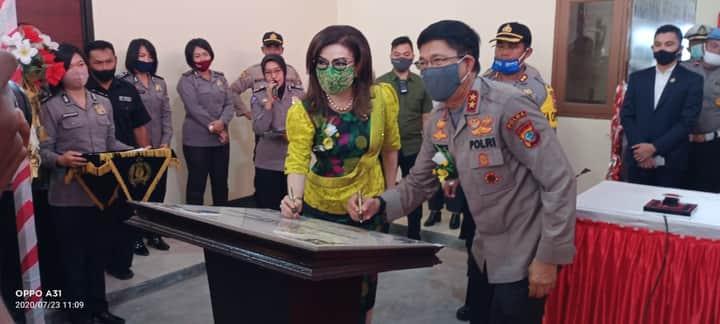 Kapolda Sulawesi Utara Resmikan Rusun dan Guest House 'Rekonfu' Polres Minahasa Selatan