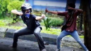 Dua Warga Terkena Busur, Polisi Didesak Tindak Tegas Tangkap Pelaku Dan Beri Efek Jera