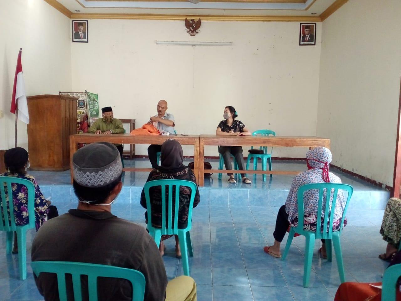 Pembagian Bantuan Sosial Tunai (BST) Kemensos Tahap 3 Desa Duwet, Kecamatan Bendo, Magetan