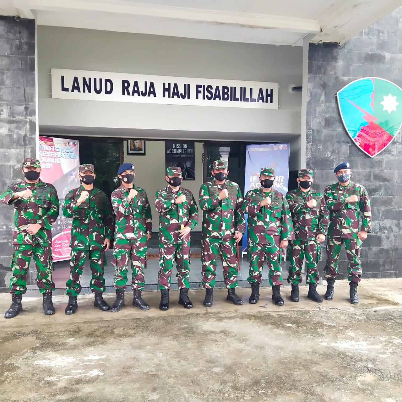 Pangkogabwilhan I Kunjung Beberapa Instansi TNI Yang Ada di Tanjungpinang