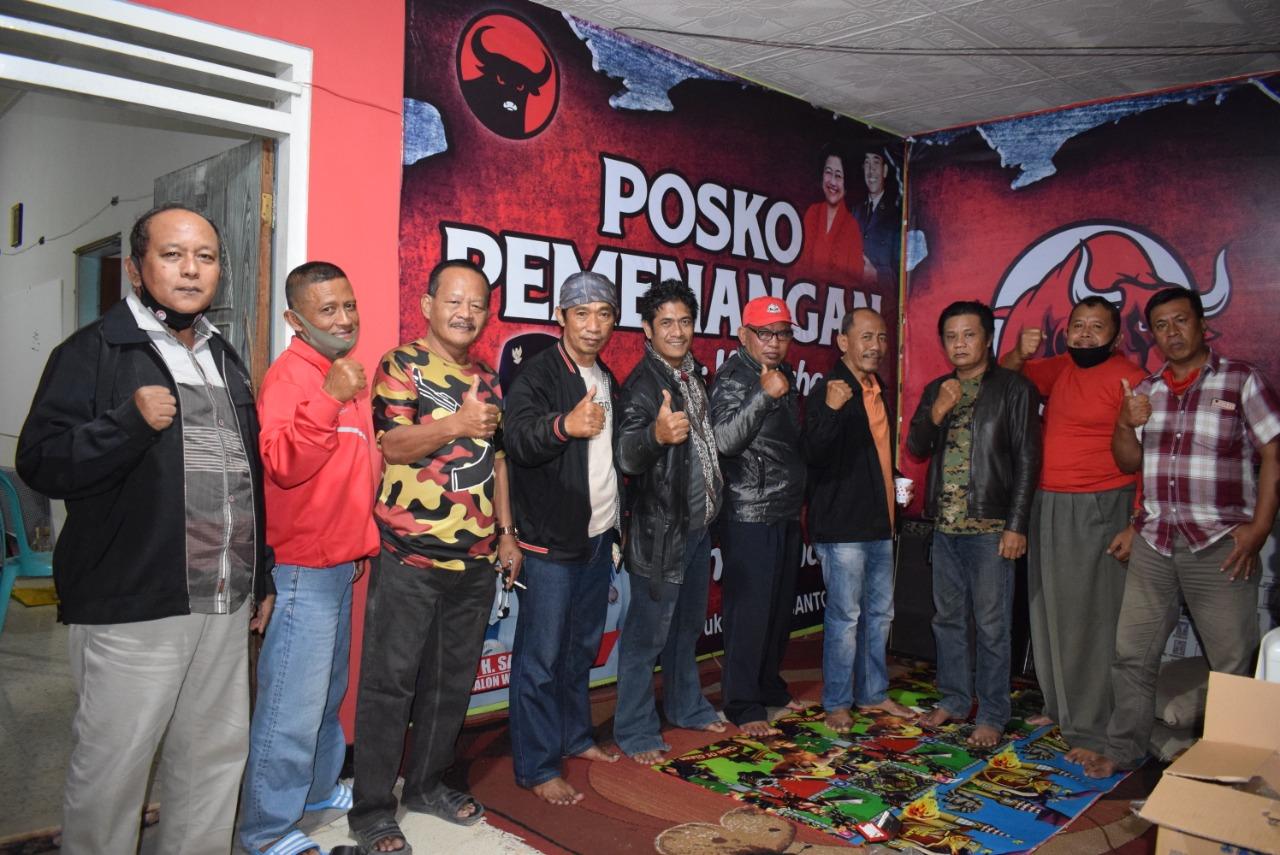 Relawan Posko Santoso-Tjutjuk Guyub Rapatkan Barisan Hadapi Pilwali Blitar 2020