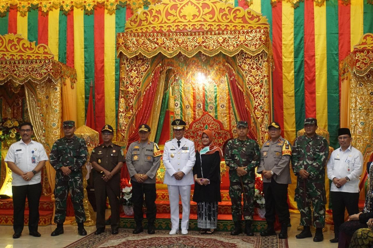Wadan Lantamal IV Hadiri Acara Tepuk Tepung Tawar Gubernur Kepri