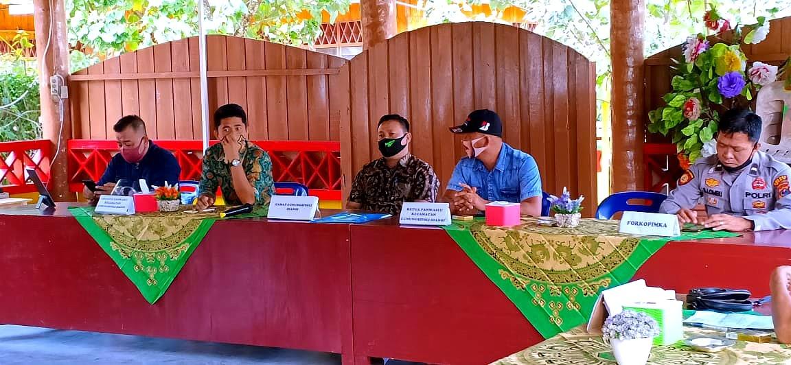 Panwaslucam Gunungsitoli Idanoi, Laksanakan Sosialisasi Pengawasan Partisipatif Pemilu