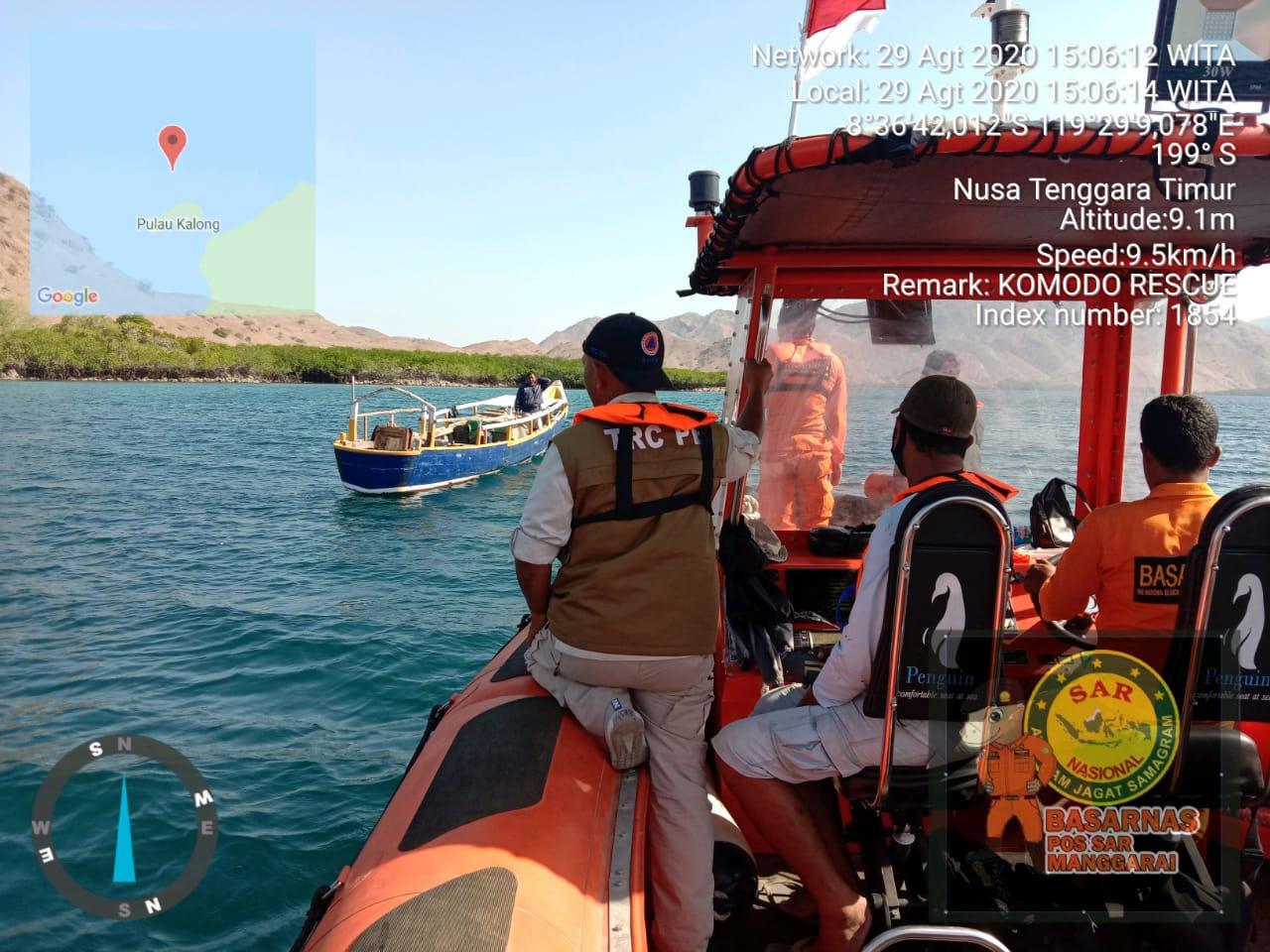 Dua Hari Pencarian ABK Kapal La Boheme Belum Ditemukan
