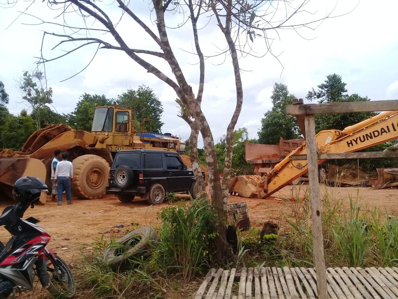Diduga Ada Tambang Bauksit Ilegal Di Tanjungpinang