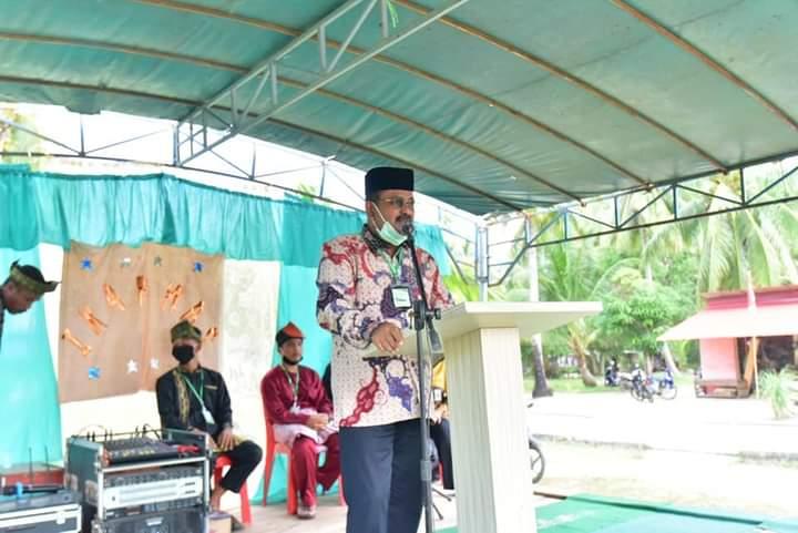 Bupati Hadiri Pengukuhan Remaja Masjid Nurusy Syuhud Desa Selat Mendaun