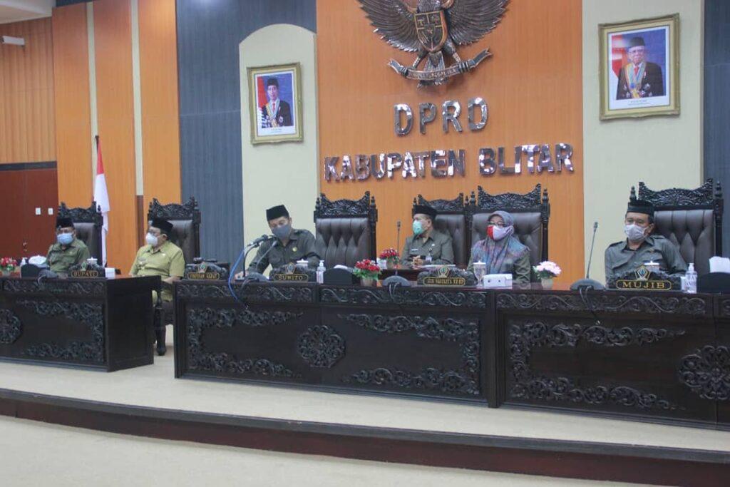 Tingginya Anggaran Dinas Pendidikan Kabupaten Blitar di Tengah Belajar Daring Mendapat Sorotan Sejumlah Fraksi DPRD