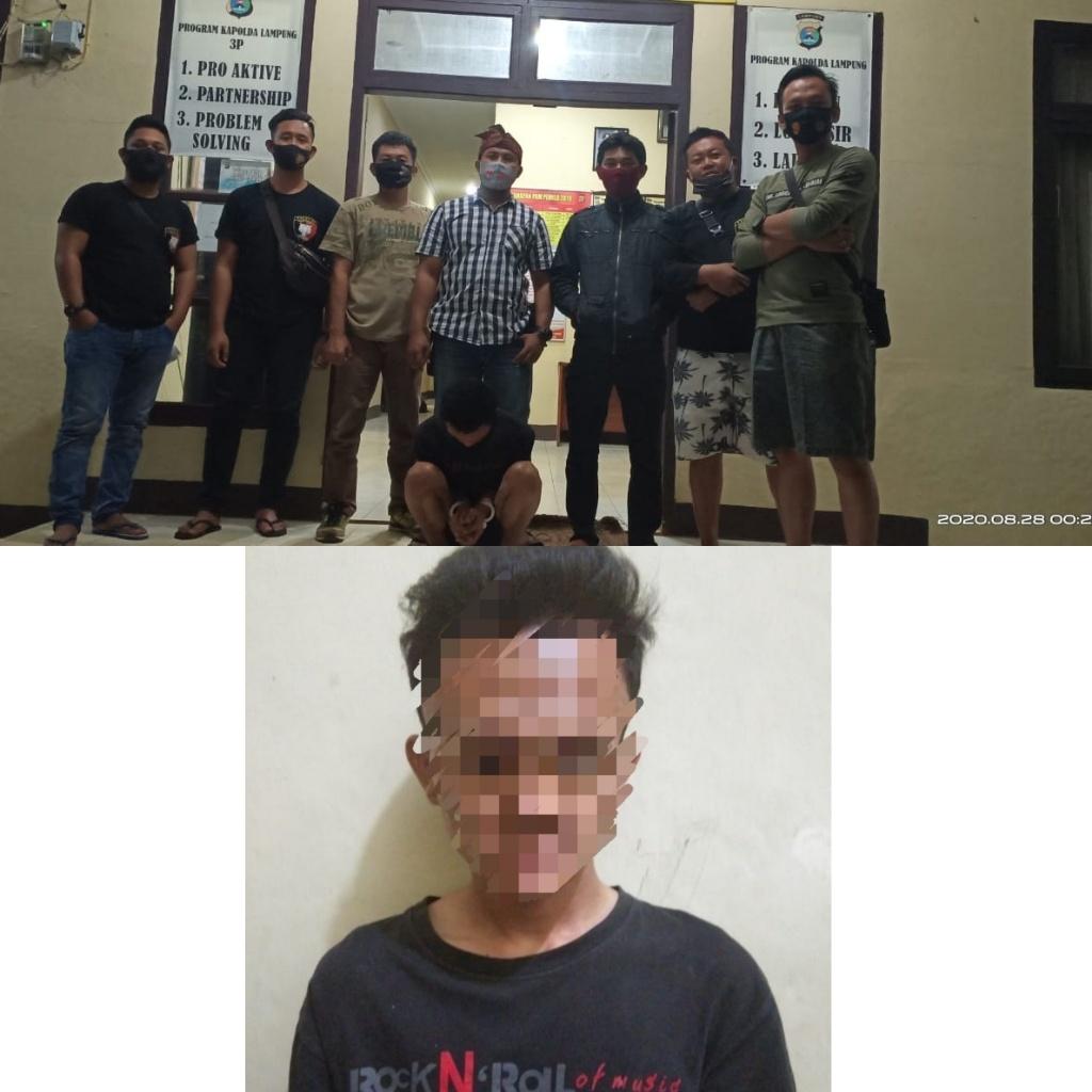 Pelarian IS Berakhir di Tangan Team Resmob Polsek Bukit Kemuning