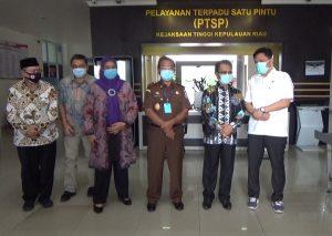 Pimpinan DPRD Kepri Silaturahmi Berkunjung Ke Kejati Kepri