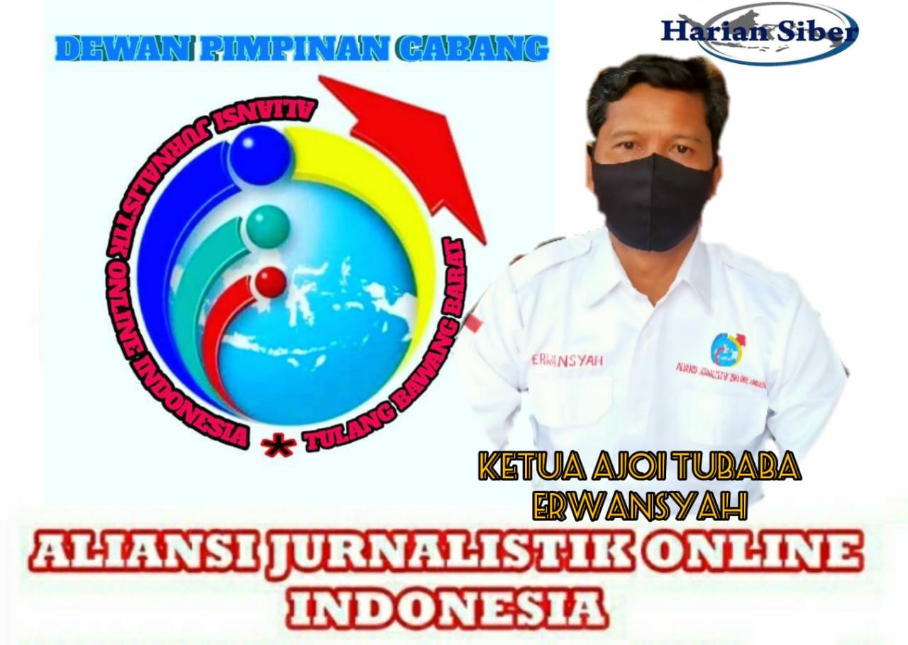 Ketua AJOI Tubaba Ajak Jurnalis Bantu Pemerintah Patuhi Protokol Kesehatan