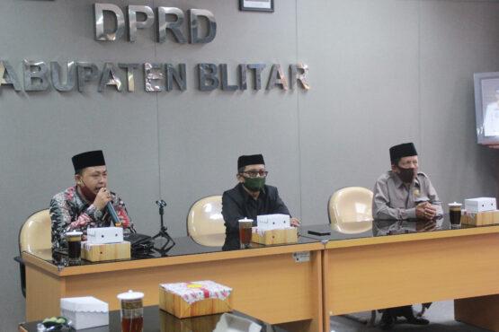 DPRD Kabupaten Blitar Menerima Kunjungan dari Bojonegoro Sharing Pembangunan Ditengah Pandemi