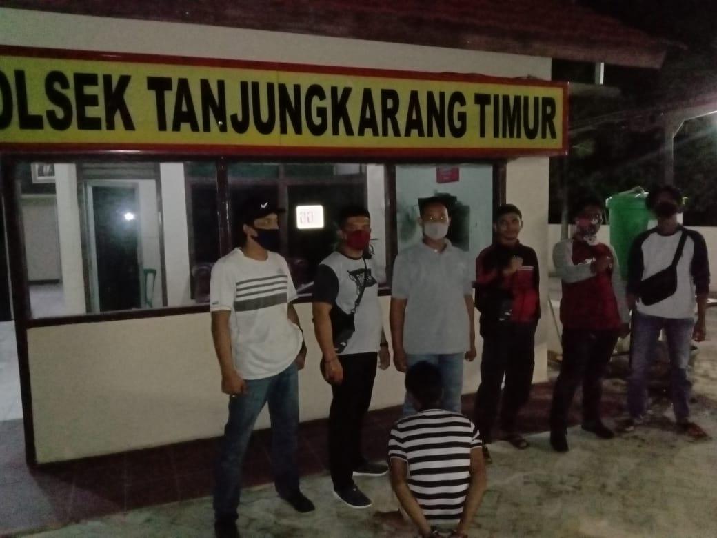 Sempat Bersembunyi di Kota Bandar Lampung Pelaku Curat Ini diamankan Polsek Sungkai Selatan