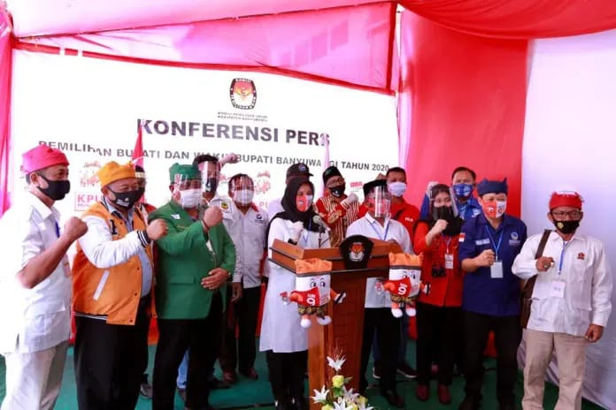 Di Usung PDIP, PPP, Gerindra,Nasdem dan Hanura Ipuk – Sugirah Yakin 80 Persen Menguasai Suara di Bumi Blambangan
