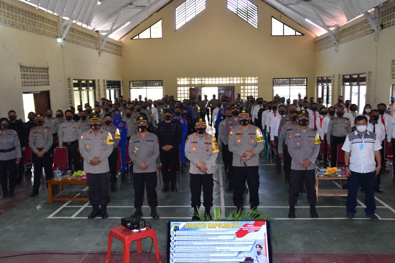 Kapolda NTT Kunker ke Polres Manggarai Barat