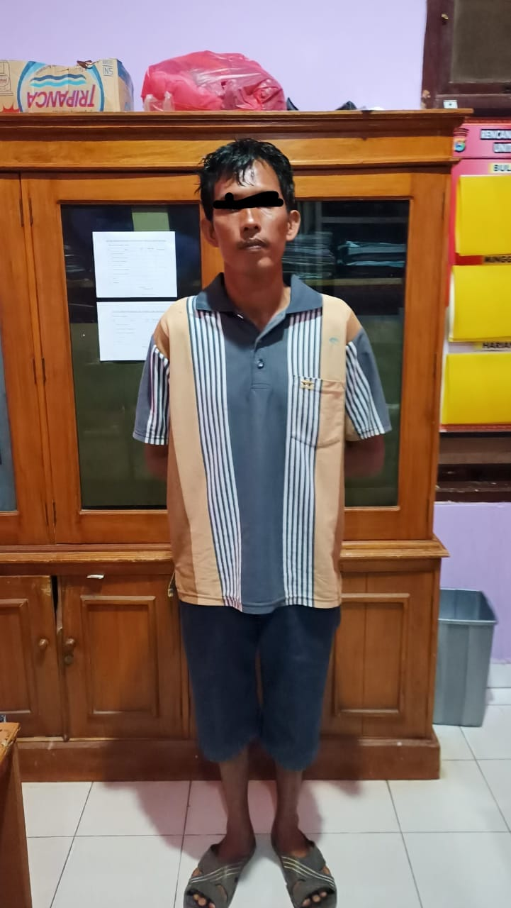 Cabuli Anak Tiri Bertahun – Tahun Seorang Ayah Bejat Ini, Terancam Hukuman 15 Tahun Penjara
