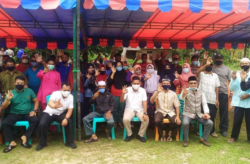 Paslon Cabup dan Cawabup Nomor Urut 3 Nizar-Neko Lakukan Kampanye di Dusun II Air Merah Desa Sungai Raya