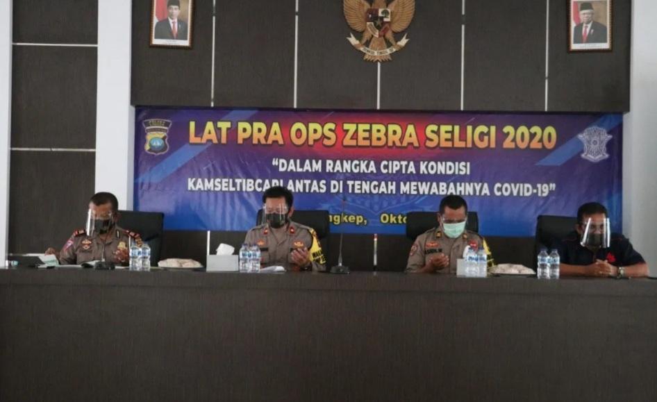 Polres Lingga Akan Lakukan Operasi Zebra Seligi 26 Oktober Mendatang