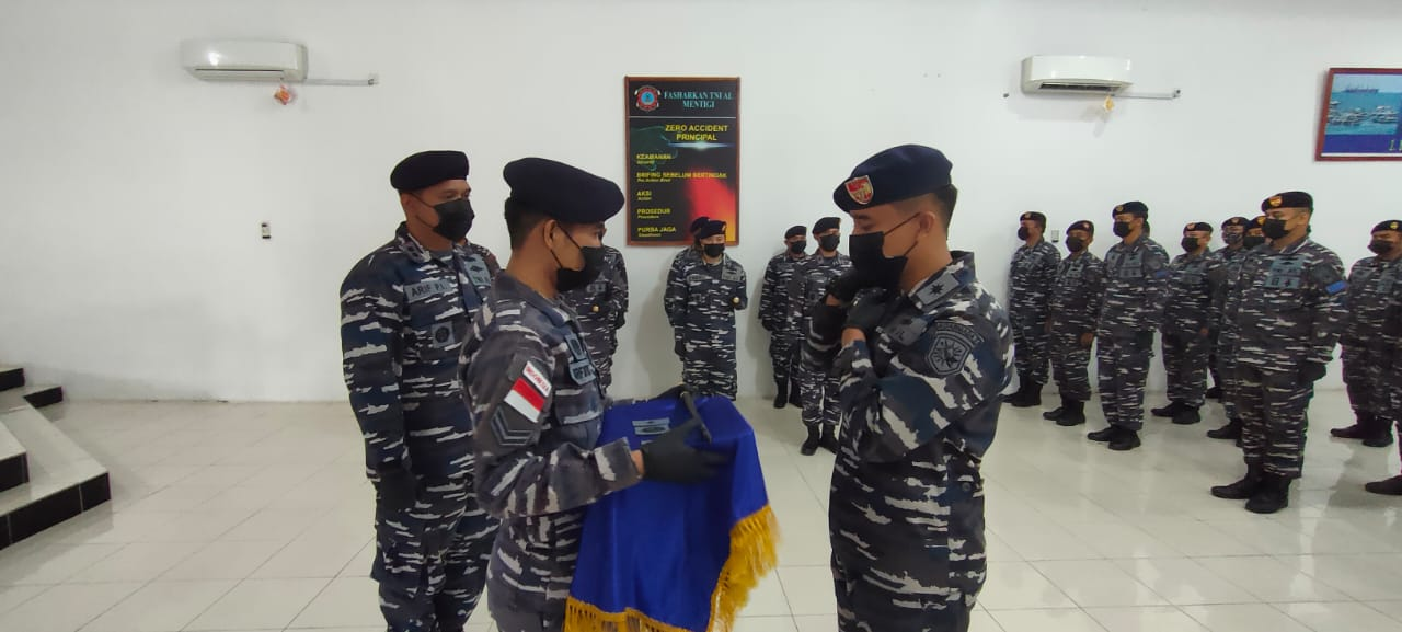 Komandan KRI Lepu-861 Resmi Berganti