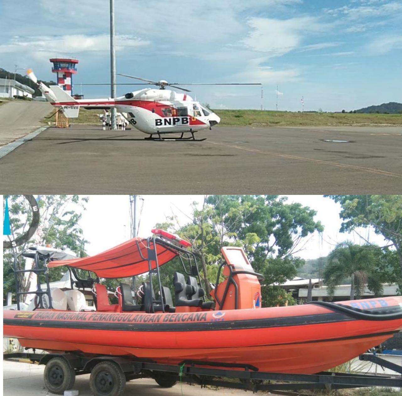 Dukung Wisata Aman, BNPB Berikan Bantuan Armada Laut dan Udara di Labuan Bajo