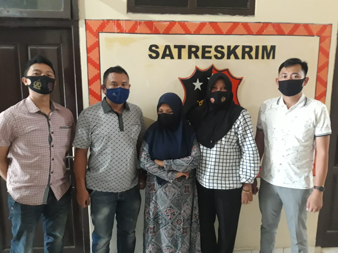 Tipu Korban Untuk Jadikan ASN, Oknum PNS Ini diamankan Satreskrim Polres Lampung Utara