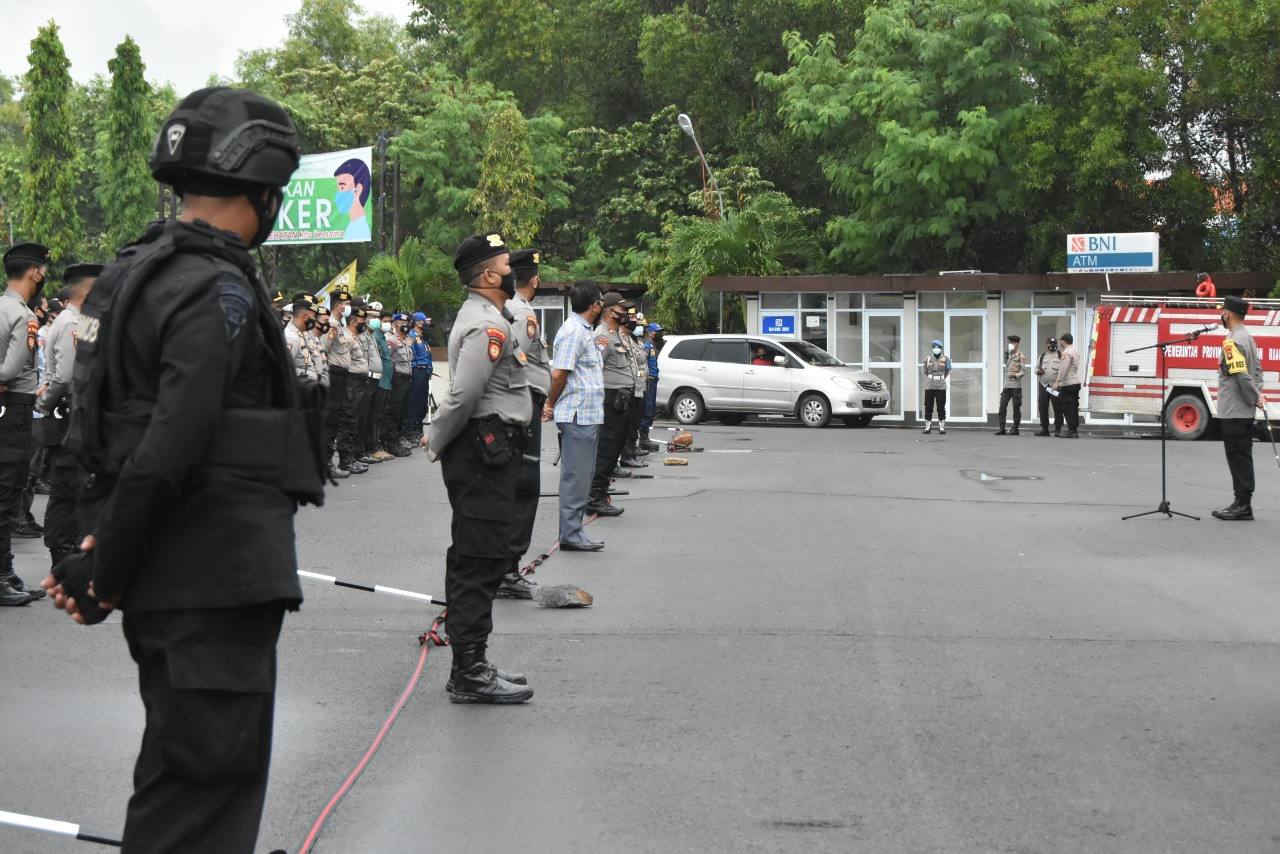 289 Personel Polres Tanjungpinang Amankan Rapat Pleno KPU