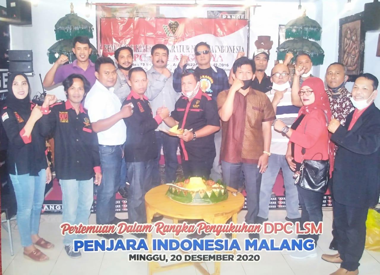 LSM PENJARA Indonesia DPC Malang Raya Resmi di Kukuhkan