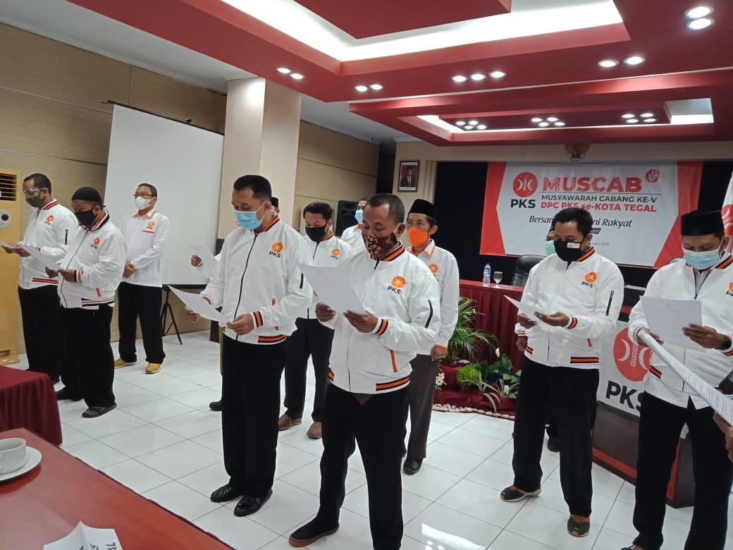 Gelar Muscab, PKS Kota Tegal Kukuhkan 4 Ketua DPC Berwajah Baru