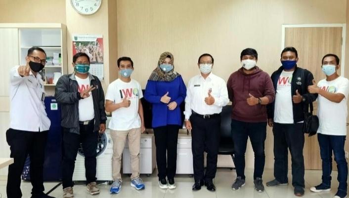 IWO Malang Raya Kunjungi Diskominfo Kota Batu