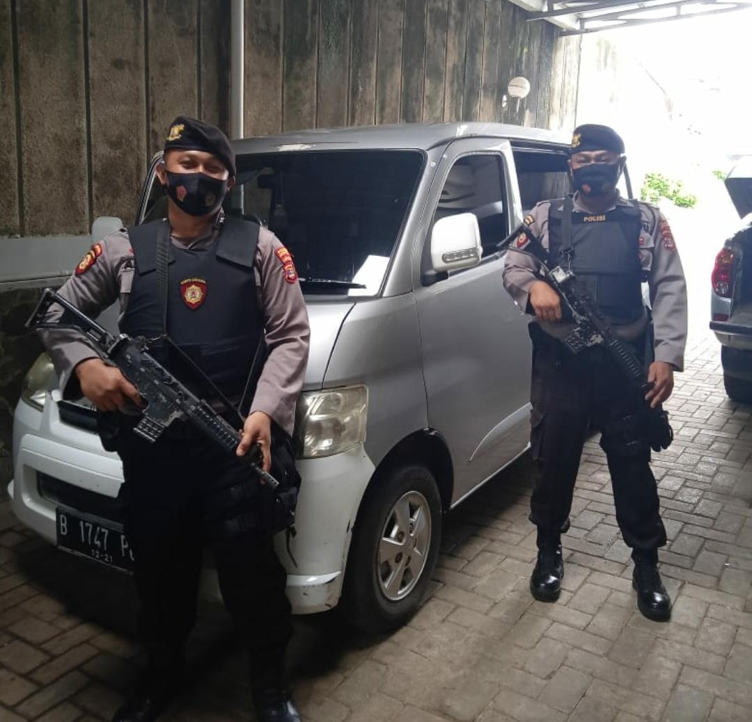 Sat Sabhara Polres Lampung Utara Gelar Patroli Bermotor