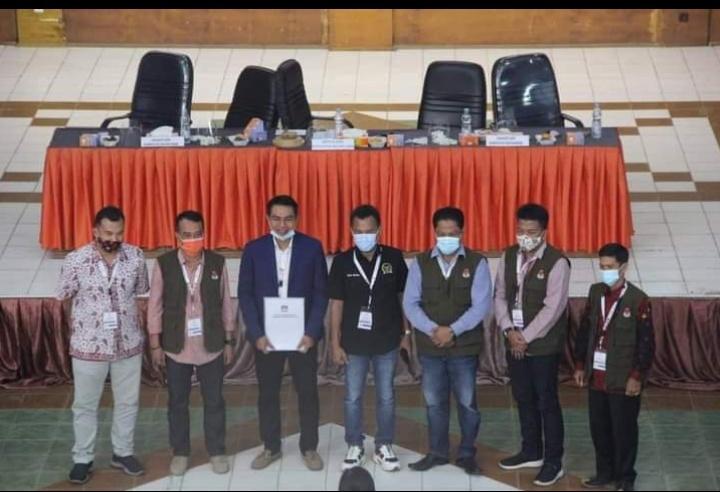 M.Fhadil Arip – H.Bakhtiar sp Menangkan Pilkada Batang Hari