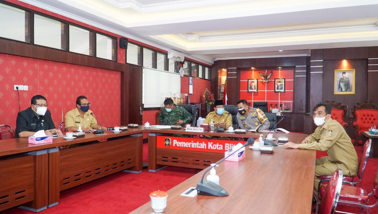 Kota Blitar Kembali Zona Merah, Walikota Santoso Jalankan PPKM Jilid 2