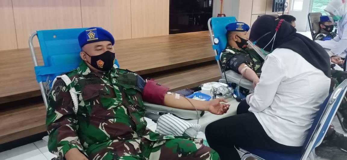 Lantamal IV Gelar Donor Darah