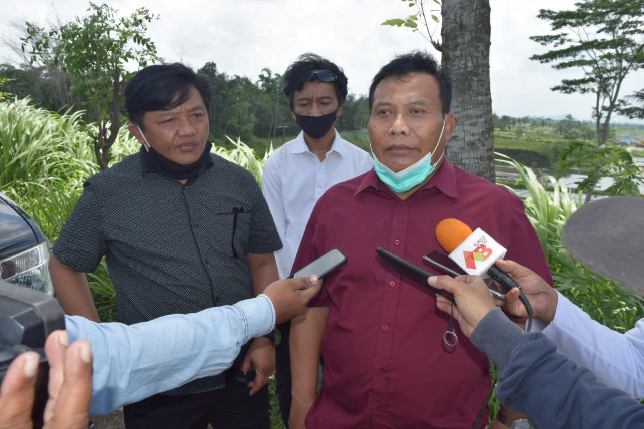Pertambangan Pasir Sulit Cari Izin, Komisi D Jatim dan Komisi III DPRD Kabupaten Blitar Monitoring Bersama