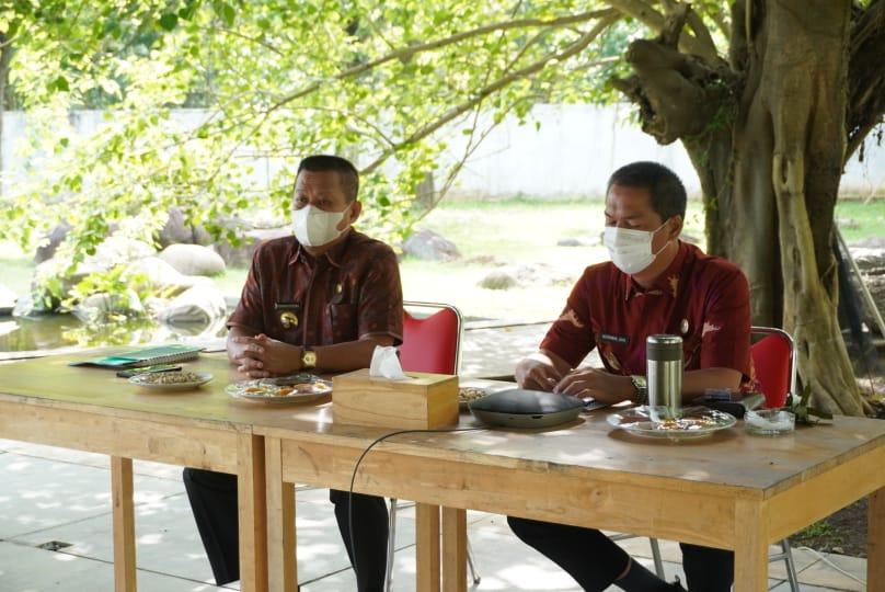 Sekda Tubaba Hadiri Rakor Program Pencegahan Korupsi Terintegrasi 2021