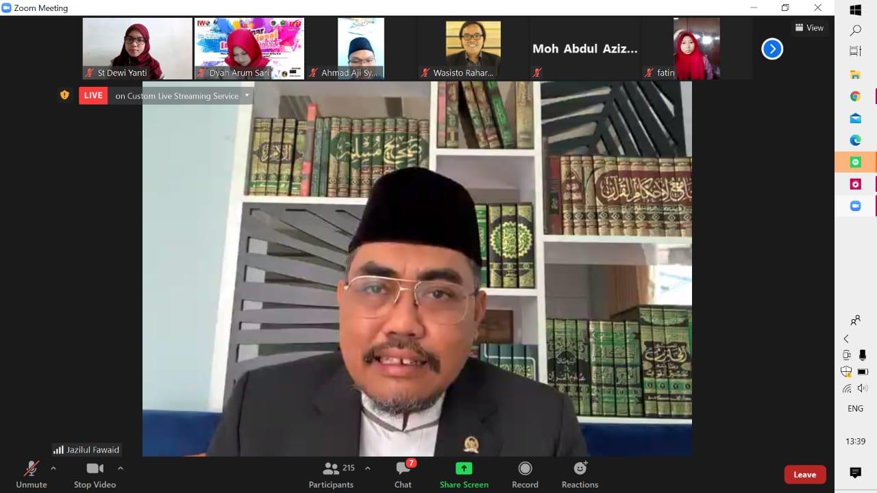 MPR RI Bangga Buka Webinar Internasional Jurnalistik 2021