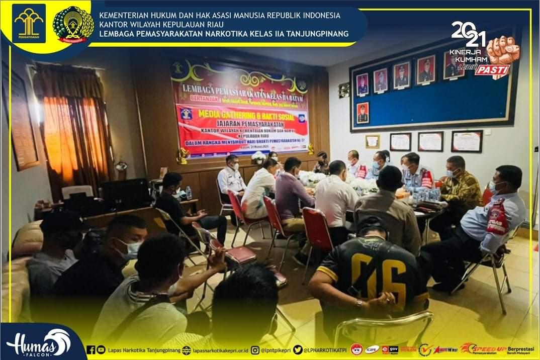 Kalapas Narkotika Kelas II A Ikuti Baksos Pemasyarakatan di Batam