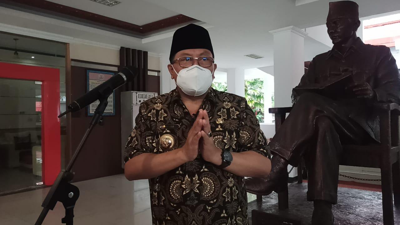 Sampaikan Maaf Video Viral Menyanyi Tanpa Masker, Walikota Santoso Ingin Fokus Kerja Jalankan Janji Kampanye